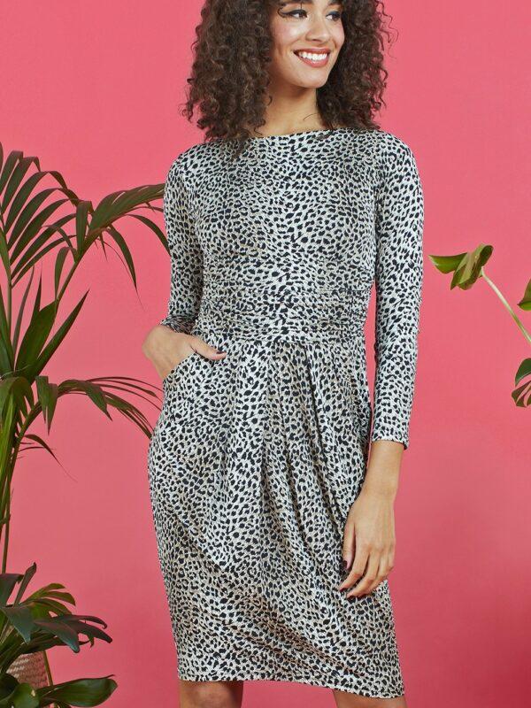 Onjenu Sydney Solar Leopard Print Dress