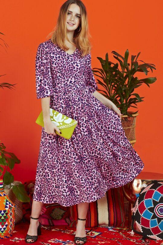 Onjenu Esme Gwen Pink Dress