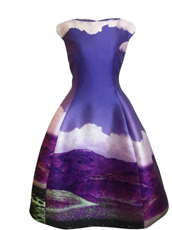 Max Jenny Purple Dress
