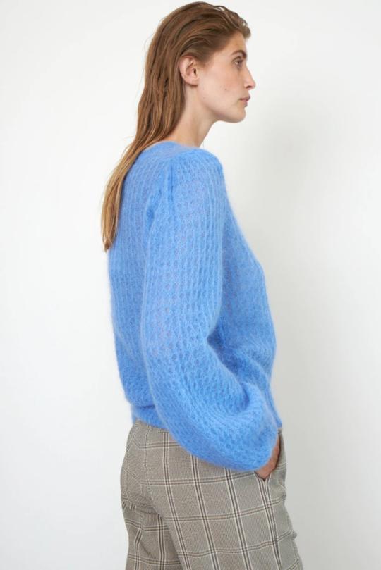 Second Female Brett Knit In Cornflower Blue