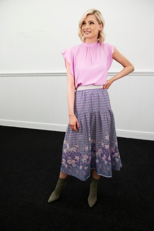 Lolly's Laundry Cokko Floral Print Skirt