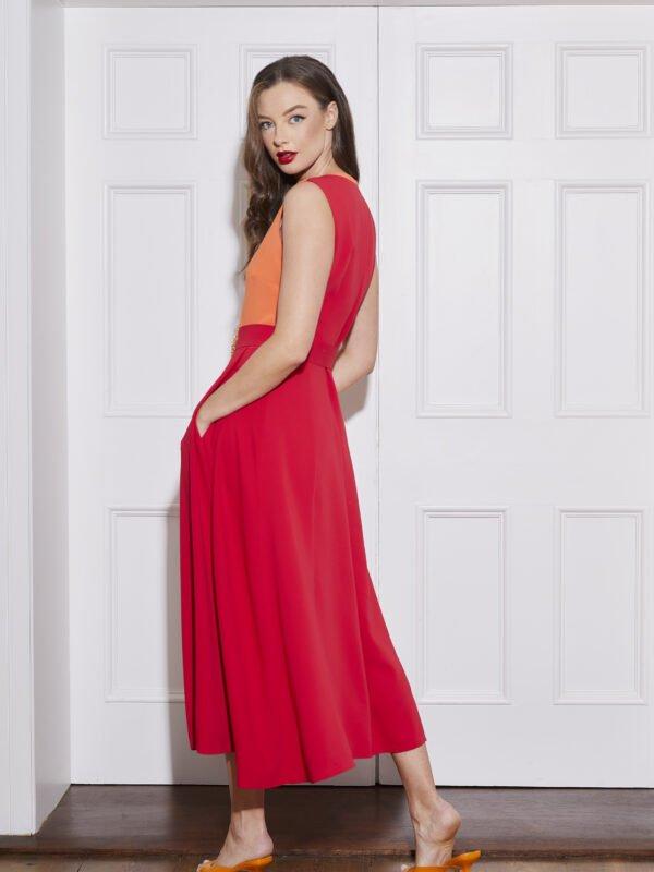 Caroline Kilkenny Red Freddy Dress