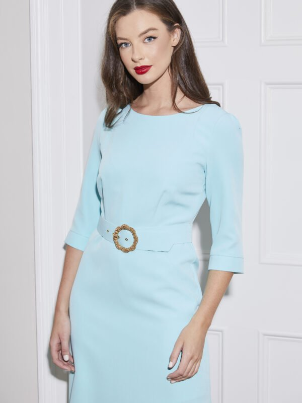 Caroline Kilkenny Mint Polly Dress