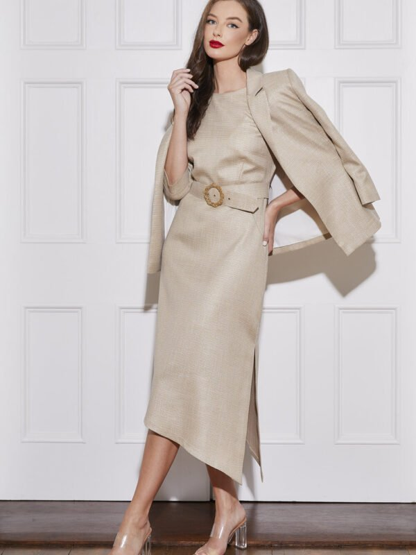 Caroline Kilkenny Angel Micro Check Jacket