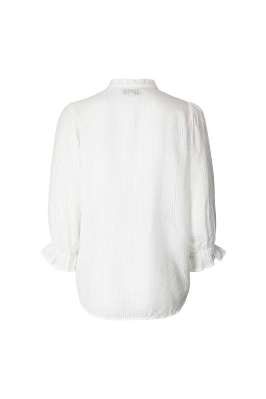 Lolly's Laundry Huxi White Blouse