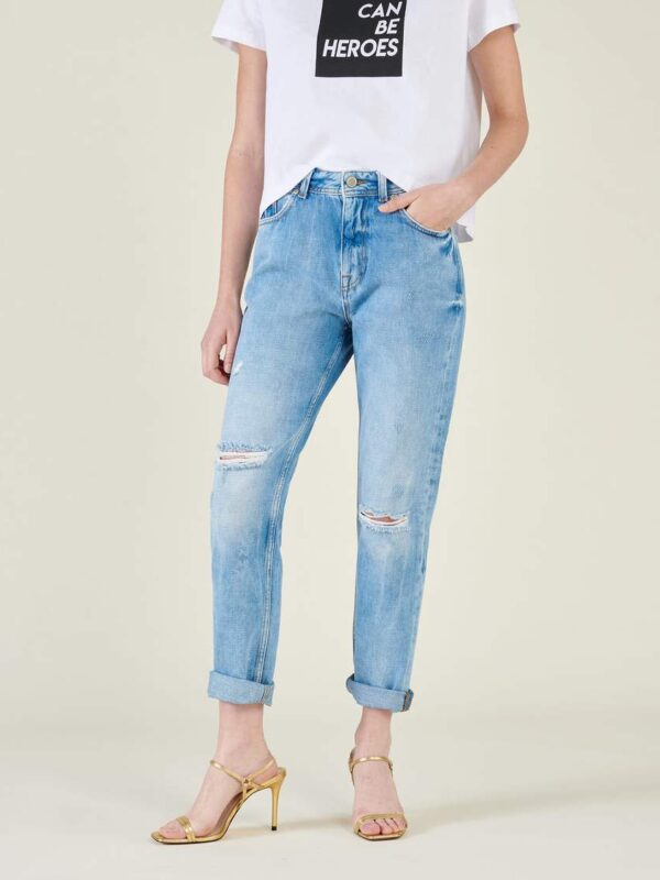 Silvian Heach High Waisted Mom Jeans