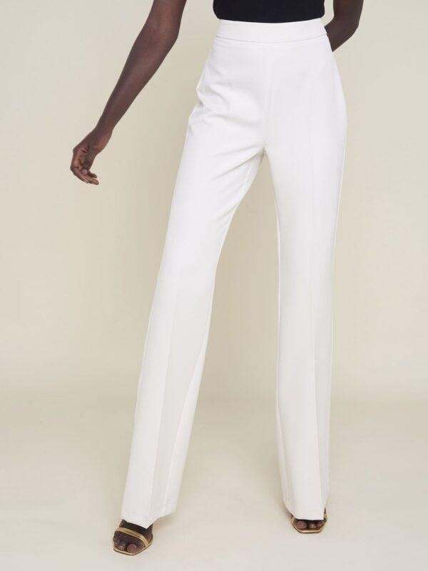 Silvian Heach High Waist White Trouser
