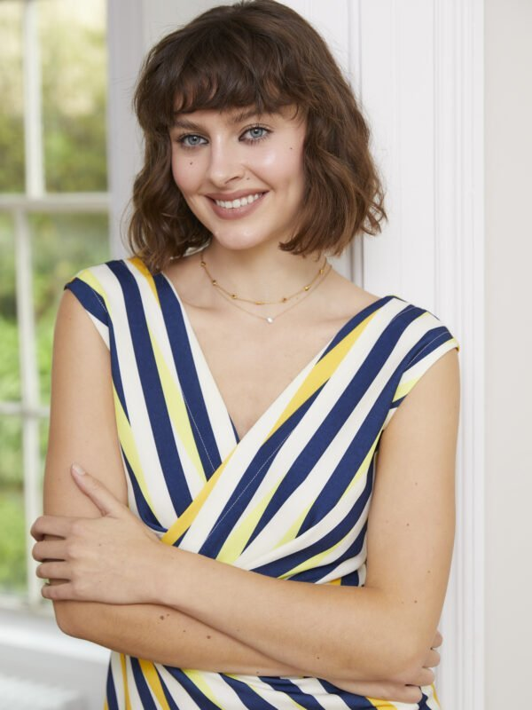 Caroline Kilkenny Sister's Lolly Stripe Dress