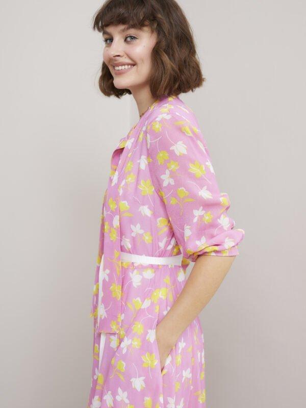 Caroline Kilkenny Sister's Pink Ricki Dress