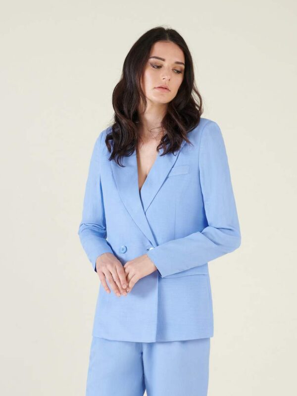 Silvian Heach Mulcix Dusty Blue Jacket