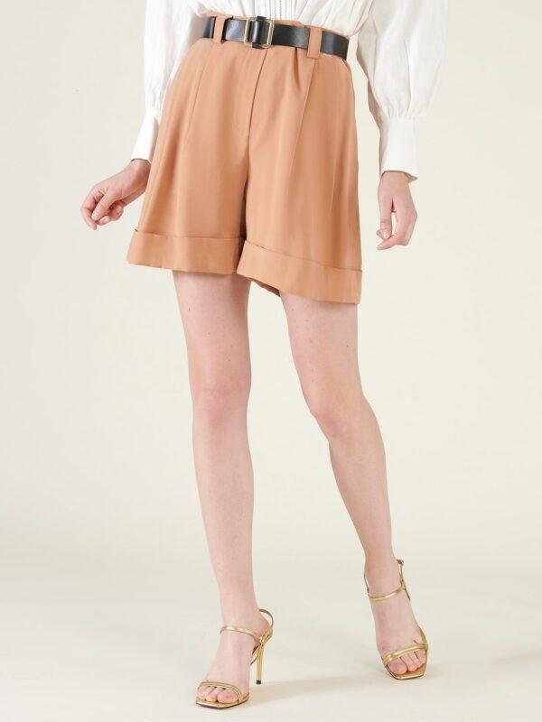 Silvian Heach Pensipa Brown Shorts