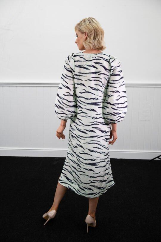Second Female Tiger Print Midi Dress