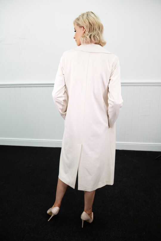 i Blues Cream Texas Coat