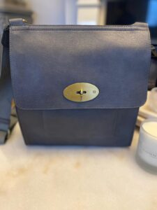 Kyla Faux Leather Dark Grey Handbag