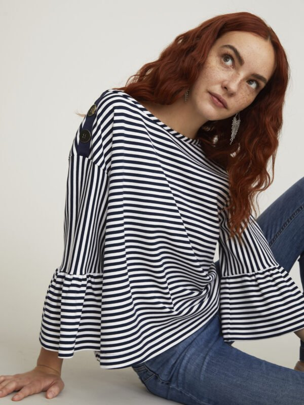 i Blues Eremita Striped Blouse