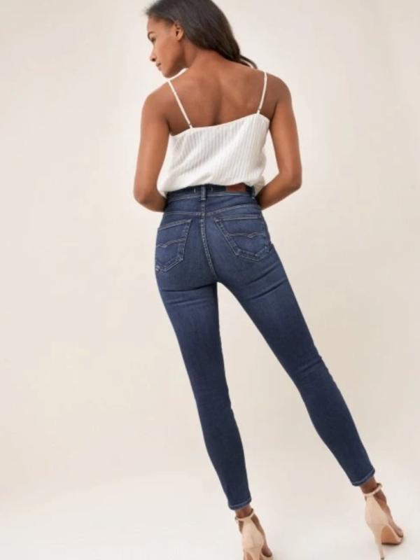 "Salsa Mid Blue Skinny Jeans Length 30"""