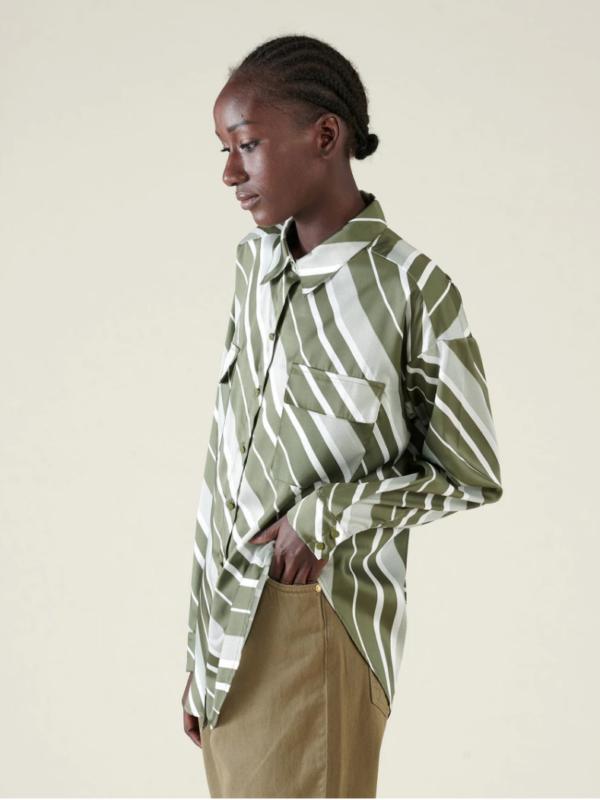 Silvian Heach Davyl Geometric Shirt