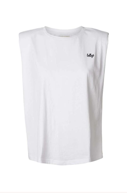 Lolly's Laundry Alex White Tshirt