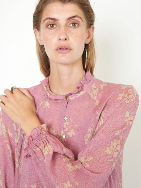 Second Female Mories Floral Printed Midi Dress