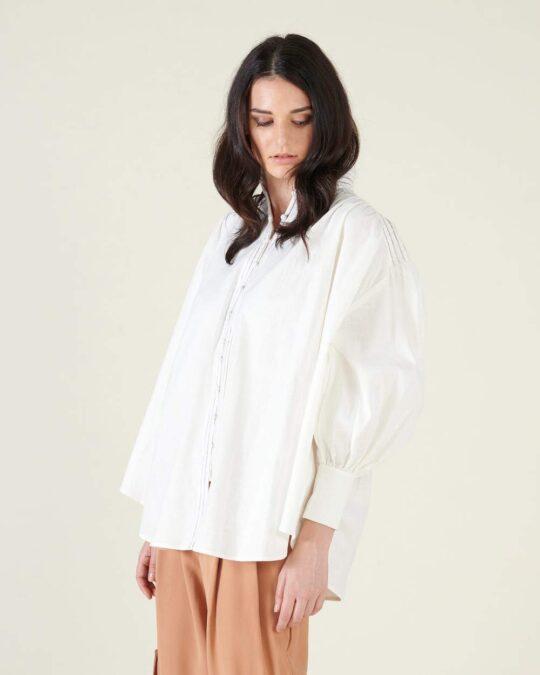 Silvian Heach Wango White Shirt