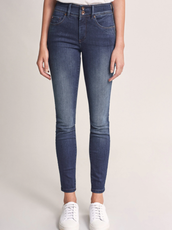 "Salsa High Waisted ""Push In"" Jeans Dark Denim"