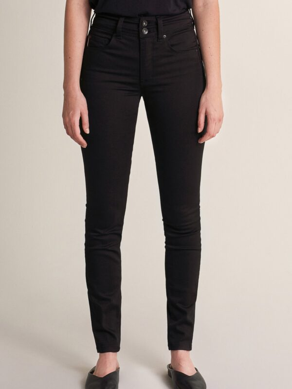 "Salsa High Waisted ""Push In"" Jeans Black"