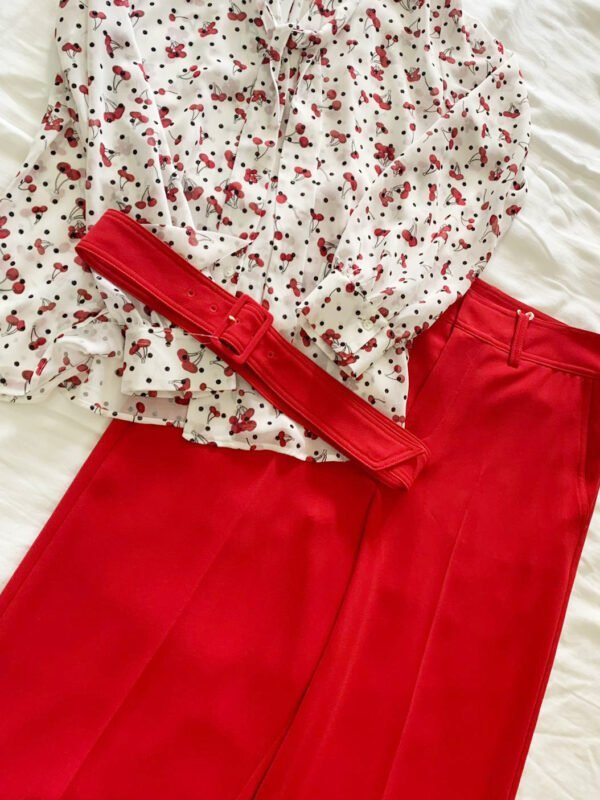 i Blues Balocco Red Trouser
