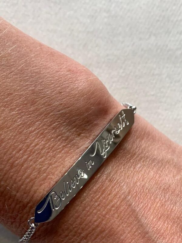 Corona Silver Believe Bracelet