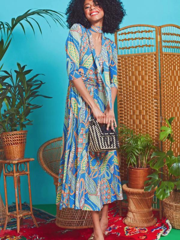 Onjenu Crawford Eivissa Print Dress