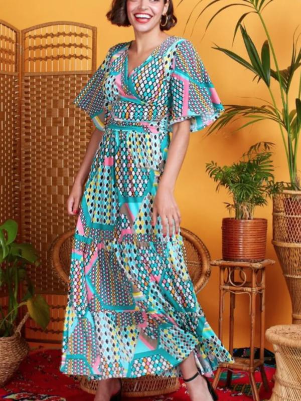 Onjenu Tilly Prism Mint Dress